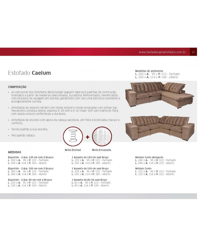 Estofado Caelum  2.60  TEC:406