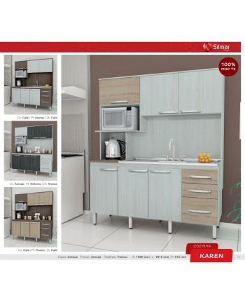Cozinha silmar Karen p/pia café/arenas