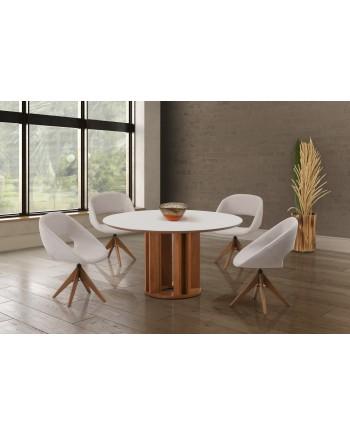 Conjunto De mesa Dalila 5 cadeiras